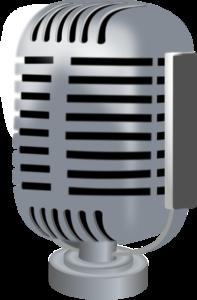 ラジオのマイク