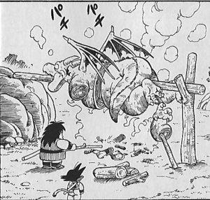 シンバルを食べるヤジロベー